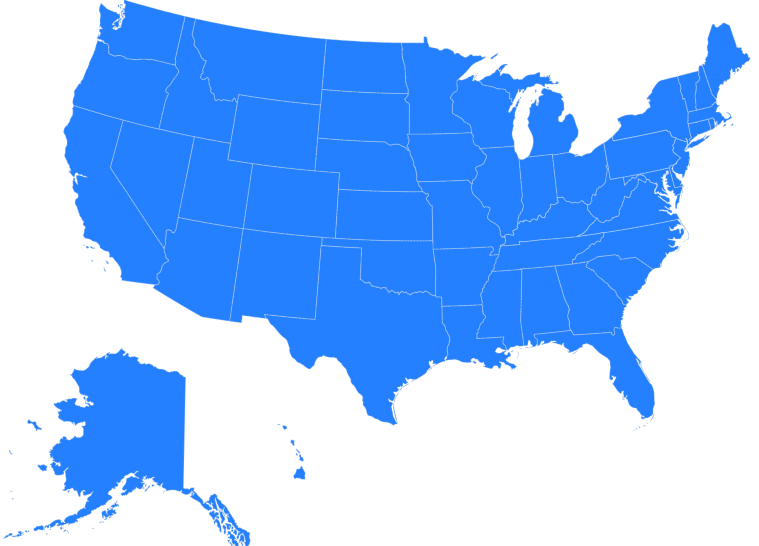 Progressive Corporation state coverage map