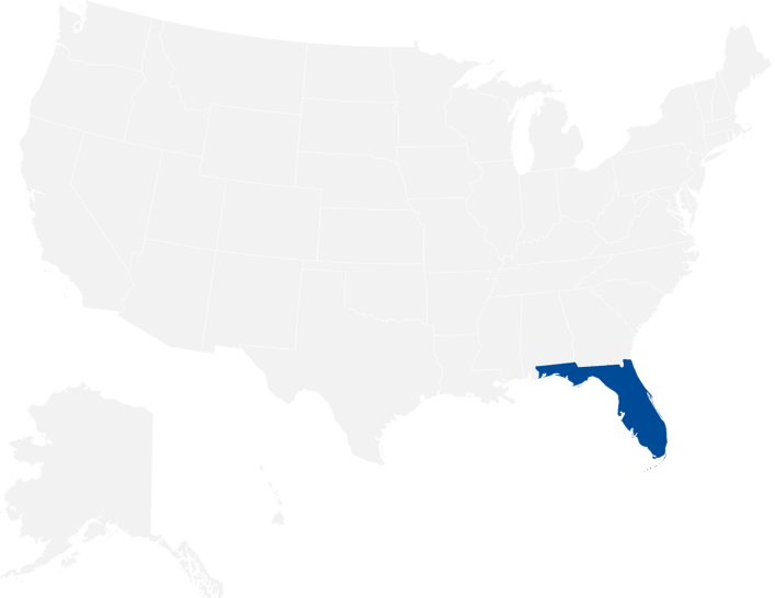 Edison Insurance state coverage map