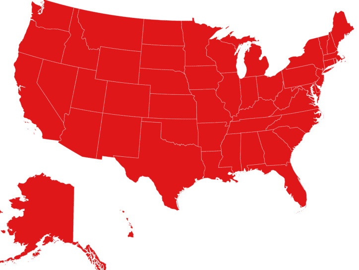 Travelers Insurance state coverage map