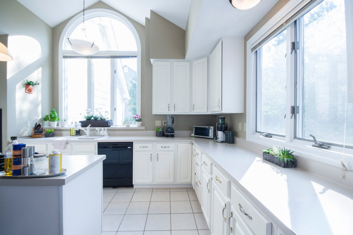 kitchen builders grade finishing