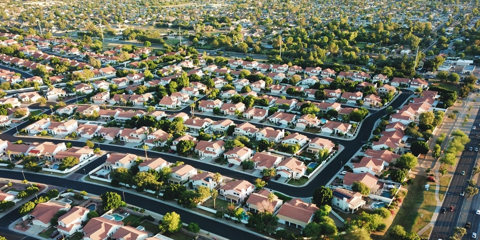 neighborhood from sky