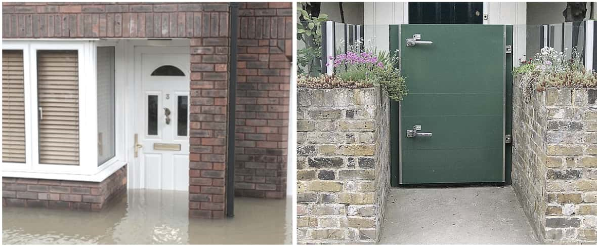 Flood Proof Doors, Flood Barriers for Homes, Permanent Flood Doors