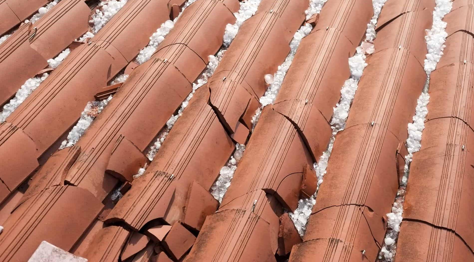 Hail Damage Roof Insurance Claim