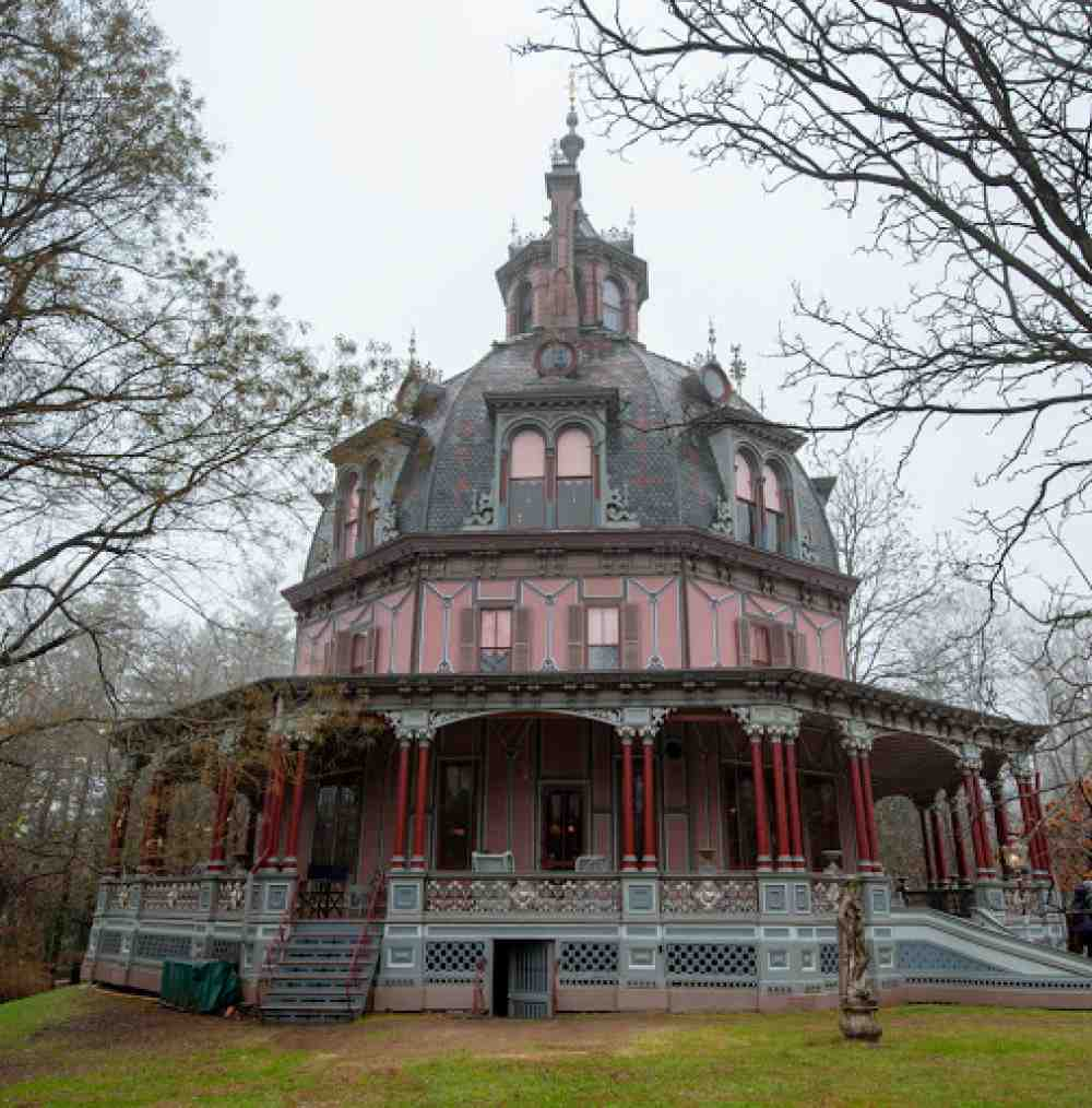 Armour Stiner Octagon House 1860 Historical Victorian House Insurance