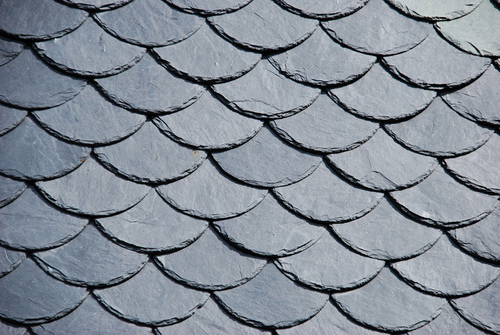 Rubber Slate Tile